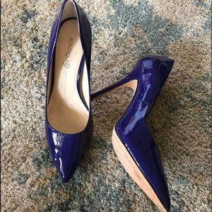 Boutique 9 purple patent leather heels